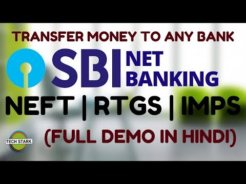 How To Transfer Money From SBI To Any Bank | 2019 | Net Banking