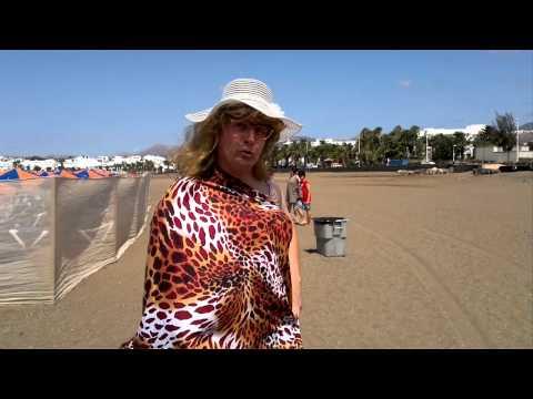 Luise am Lanzarote Beach