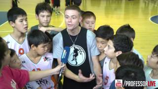 Professor answers question, motivation for aspiring hoopers internationally