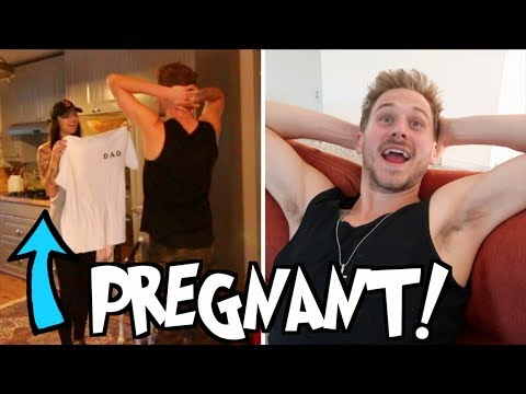 PREGNANCY ANNOUNCEMENT SURPRISE! (Justin & Brittany)
