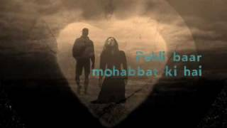 Pehli baar Mohabbat Ki Hain from the movie Kaminey