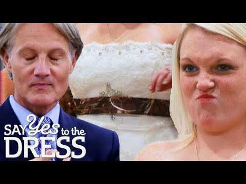 Bride Wants Her Dress To Match A Camouflage Sash | Say Yes To The Dress Atlanta