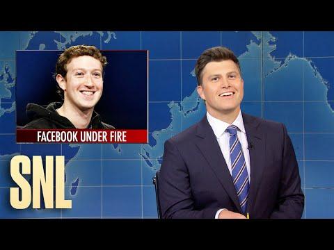Weekend Update: Facebook Under Fire - SNL