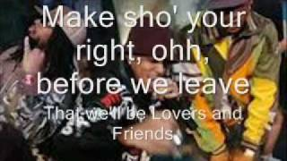 Usher - Lovers and Friends lyrics