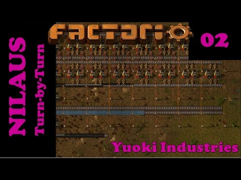 Lets Play Factorio S4E02 - Iron and Copper Smelting