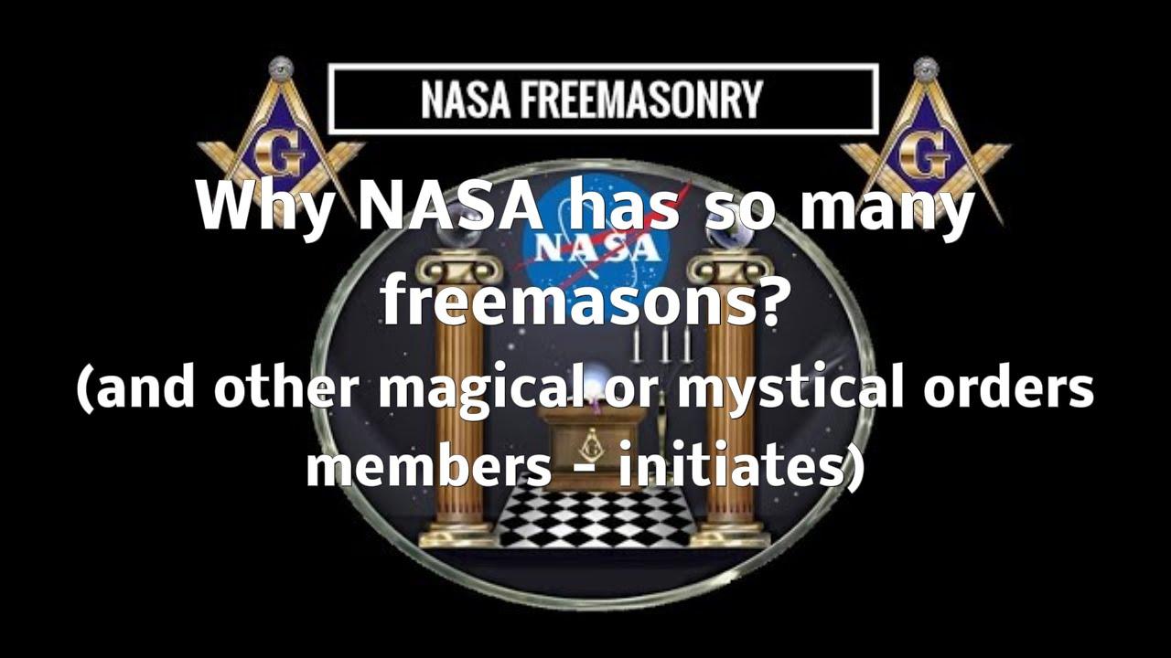 Why NASA Astronauts need to be freemasons (or have so many ...