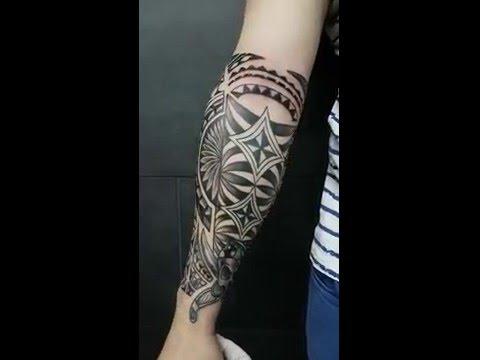 Tattoo Maori Antebrazo Youtube