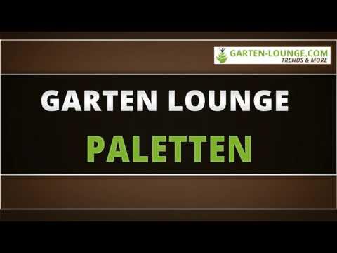 Garten Lounge Paletten