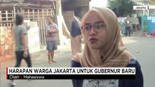 Harapan Warga Jakarta Untuk Gubernur Baru
