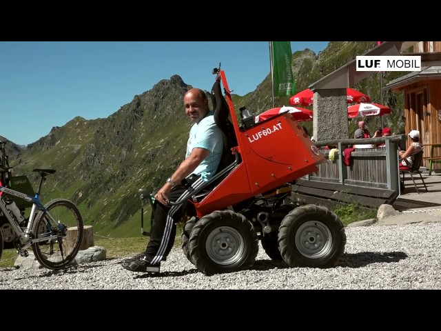 LUF Mobil in the mountains