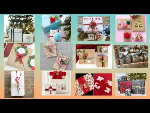 DIY gift wrapping ideas for Christmas || Creative gift wrapping ideas for Christmas ||