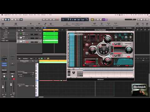 EP.8 Logic Pro x Tutorial - 808 Bass Drums Indepth  @jobeyjob