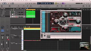 EP.8 Logic Pro x Tutorial - 808 Bass Drums like Young Chop @jobeyjob