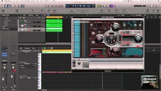 EP.8 Logic Pro x Tutorial - 808 Bass Drums Indepth  @jobeyjob