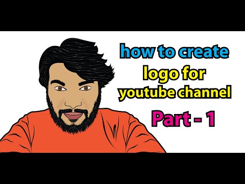 HOW TO CREATE LOGO FOR YOUTUBE CHANNEL Part 1,2019 #sudhir,#sudhirrajoriya