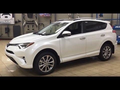 2017 Toyota Rav4 Platinum Review