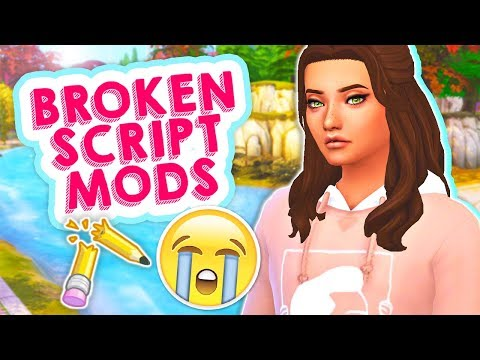 ALL SCRIPT MODS WILL BREAK WITH THE NEW UPDATE!😭 // THE SIMS 4