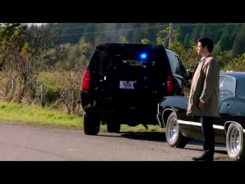 Supernatural 12x08 Lotus British man of letters Bentley take-five scene