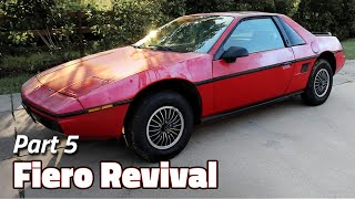 The Cleanse | 1985 Fiero 2M4 Revival - Part 5