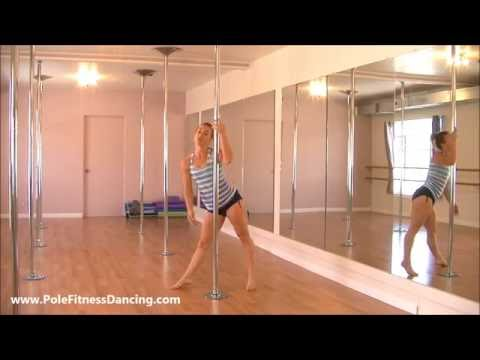 Step By Step Online Pole Dancing Lessons For Beginners At Home Part Of Routine