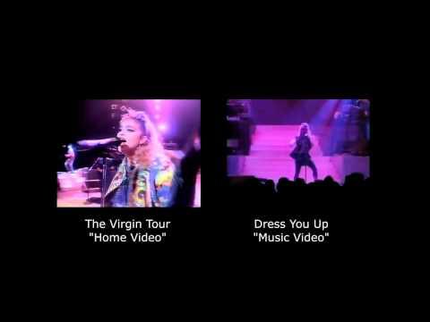 Madonna  Dress You Up comparison