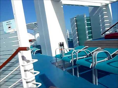 naturism on a cruise ship
