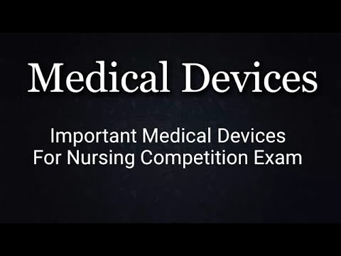 List Of Medical Instrument And Device..