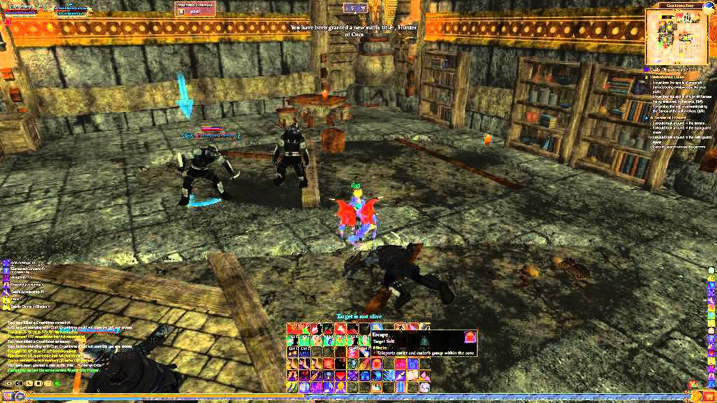 Everquest II Cry about Dirge PvP - YouTube
