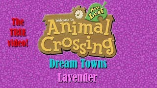Animal Crossing NL Dream Towns: Lavender