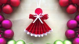 Basteln für weihnachten mit papier: weihnachtsengel als weihnachtsdeko. weiterer engel: https://youtu.be/_syul3gvjdi- weihnachtssterne weihnachtsdeko sel...
