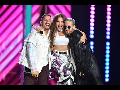 Thalia, Mau Y Ricky - Ya Tú Me Conoces (Premio Lo Nuestro 2020)