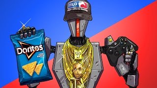 Repeat youtube video MLG ROBOT GAMER - Soul Hunt Funny Multiplayer Gameplay Moments