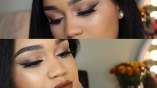 carli bybel palette by bh cosmetics   smokey eye look tutorial