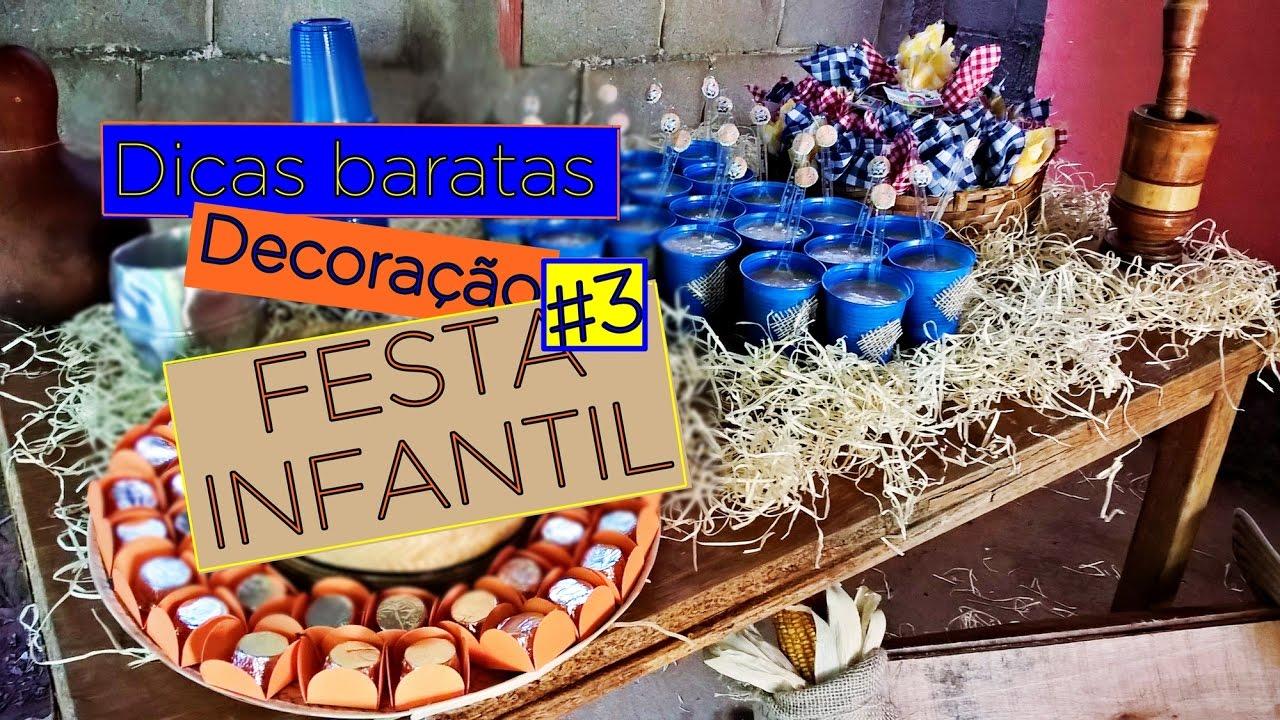 Dicas Baratas de Decoraç u00e3o Festa Infantil #3 Fazendinha You -> Decoração Festa Infantil Zoologico