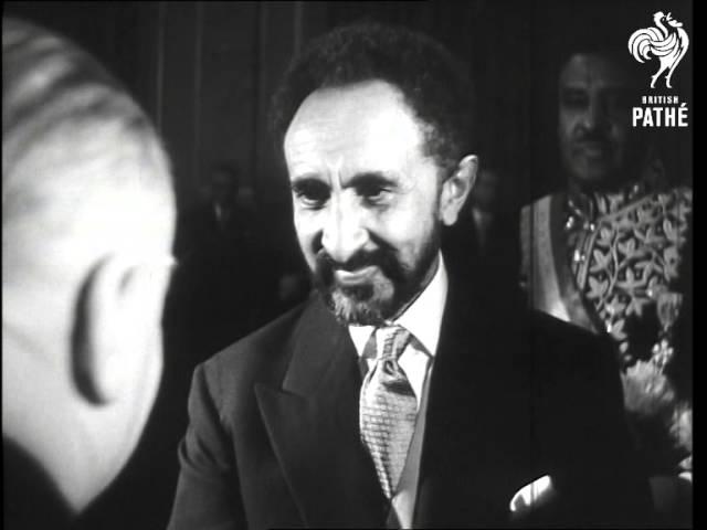 Haile Selassie Visits Paris (1954) - YouTube