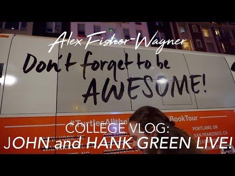 JOHN AND HANK GREEN LIVE on HALLOWEEN 🐢
