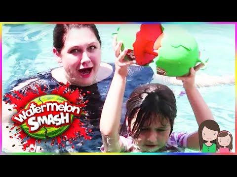 ava-bekommt-eine-schleim-dusche-😂-watermelon-smash-challenge---alles-ava