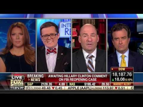 """Harlan Hill on Fox Business """"Intel Report w/ Trish Regan"""" (10/28/16) - Part 1"""