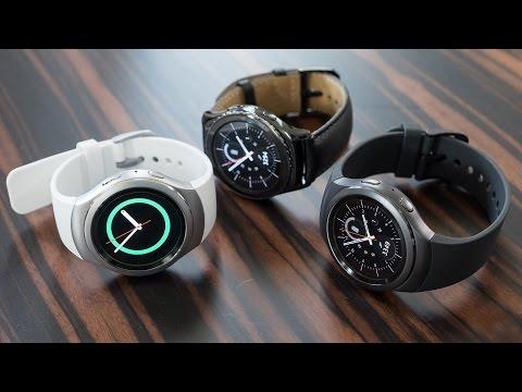 Samsung Gear S2 watch hands on