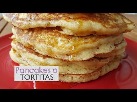 Panquecas, tortitas o hot cakes - Súper esponjosas y fáciles