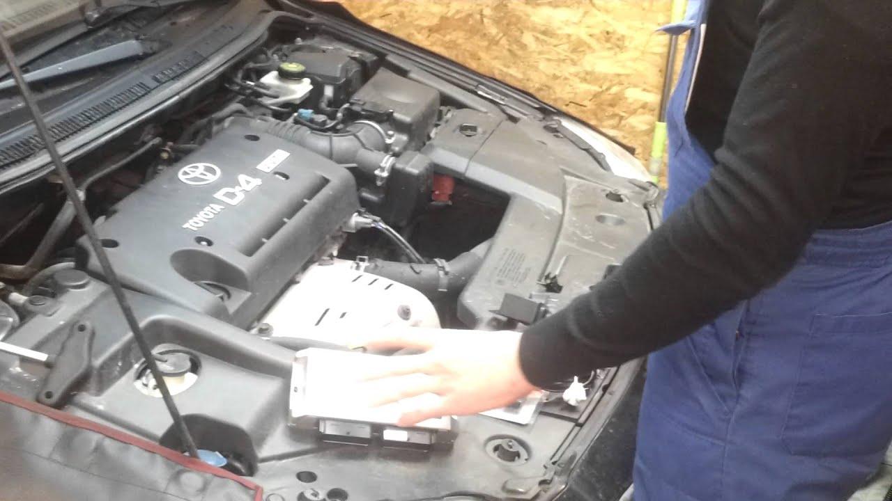 dujų įrangos stag 400 dpi montavimas į toyota avensis 2008 2.0 d4