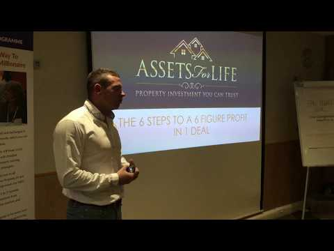 Liam Ryan (Assets For Life) - Property Development & Raising JV Finance