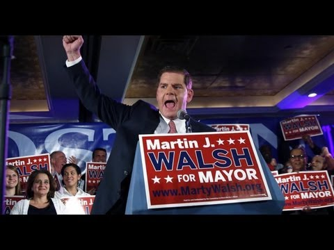 Martin J. Walsh wins primary election