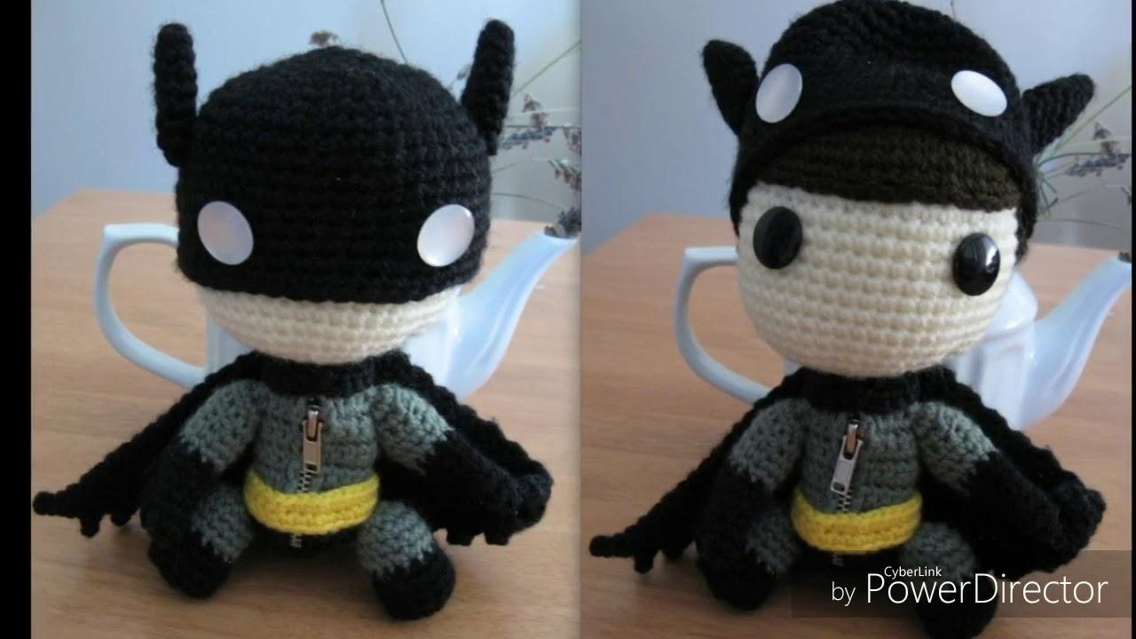 The Joker (Batman) Amigurumi Crochet Pattern   720x1280