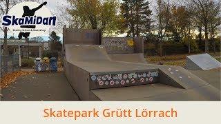 Skatepark Lörrach - Grüttpark Lörrach - Outdoor Skatepark Germany - Skatepark Lörrach Deutschland