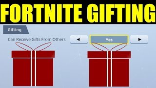 New Gifting feature IN Fortnite Battle Royale (Everything you need to know)