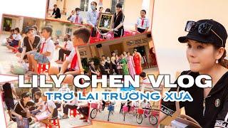 Gambar cover [LILY CHEN Vlog - 02] - Trở Lại Trường Xưa - Cùng Lily Chen trao học bổng cho học sinh nghèo !