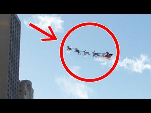 TOP 5: Djed Mrazova Uhvaćenih Kamerom (Novogodišnji Specijal)