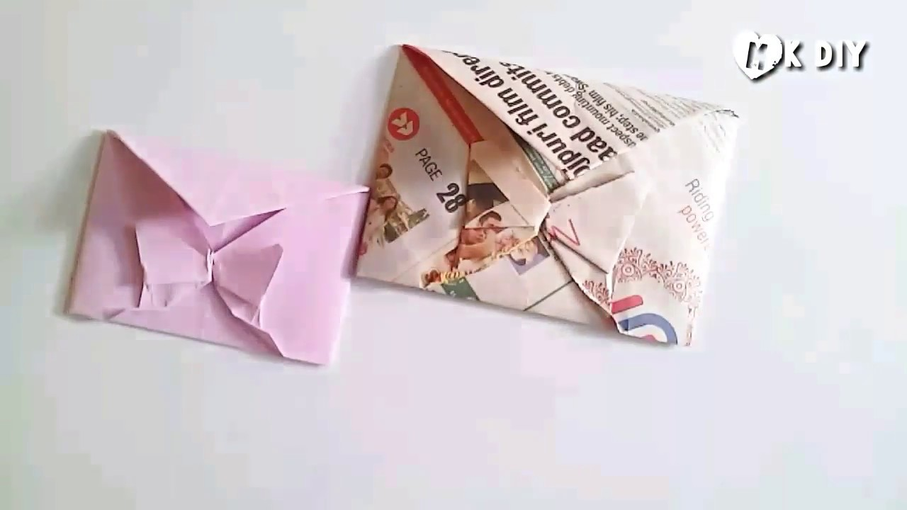 Download How to make a decorative butterfly envelope - YouTube