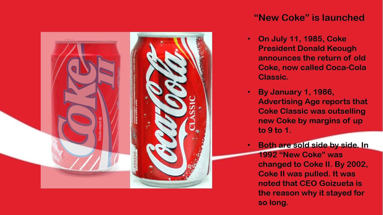 """coke am and pepsiam case Case cola wars continue coke and pepsi are the classic case (no pun intended) of """"smart"""" competitors: 8 am to 6 pm est."""